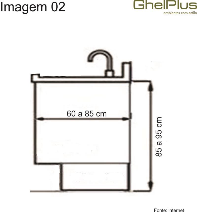 Qual tamanho de bancada para cozinha? # Bancada Cozinha Tamanho Ideal